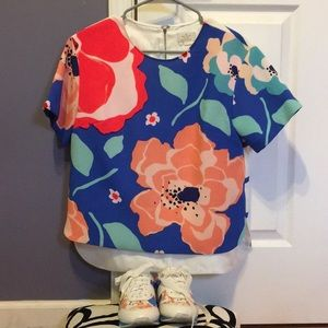 Kate Spade New York Short Sleeve Blouse size 6